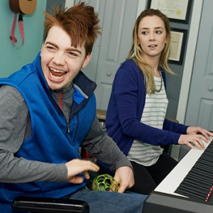Certified music therapists